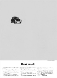 VW - Think Small